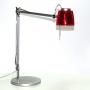 Lampda da Tavolo Caimi Brevetti modelo Mega Rosso trasparente C1842-TRO